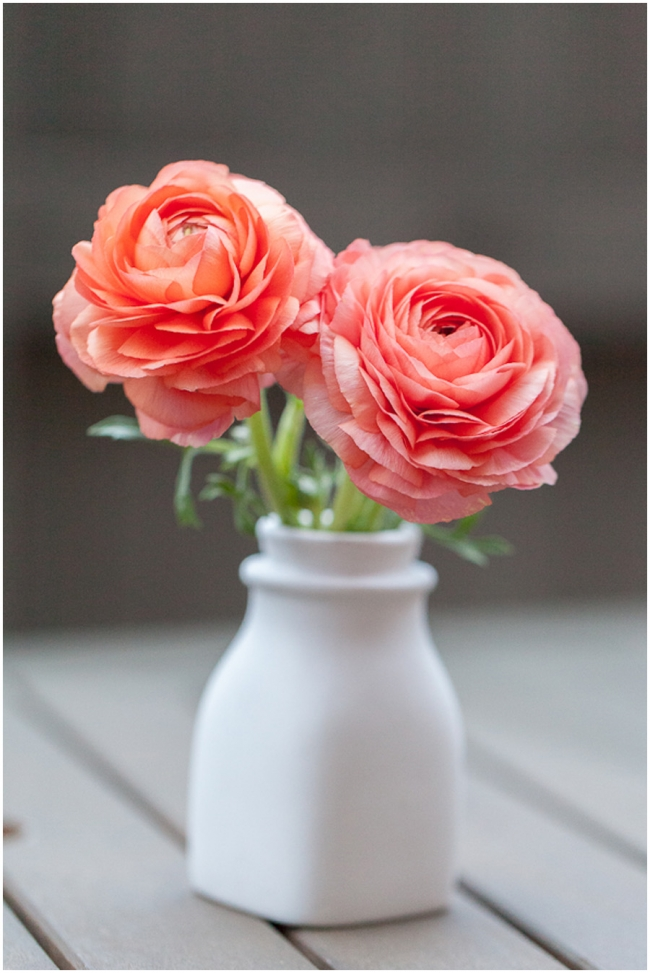 Ranunculus from the Los Angeles Flower Market
