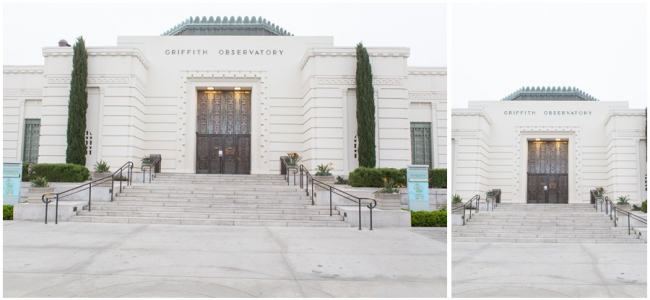 Griffith Observatory Photo Session Location Photo