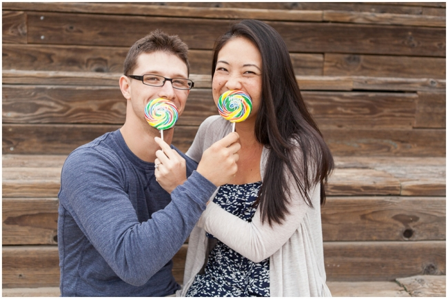 Candy Engagement Photographer Photo