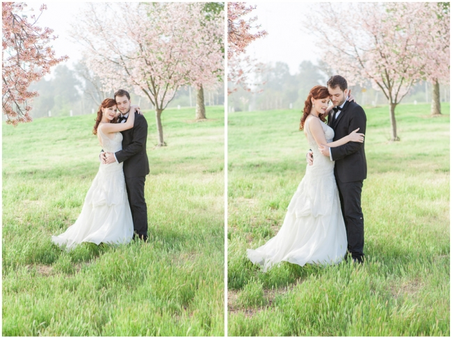 Los Angeles Wedding Photography Cherry Blossoms Photo
