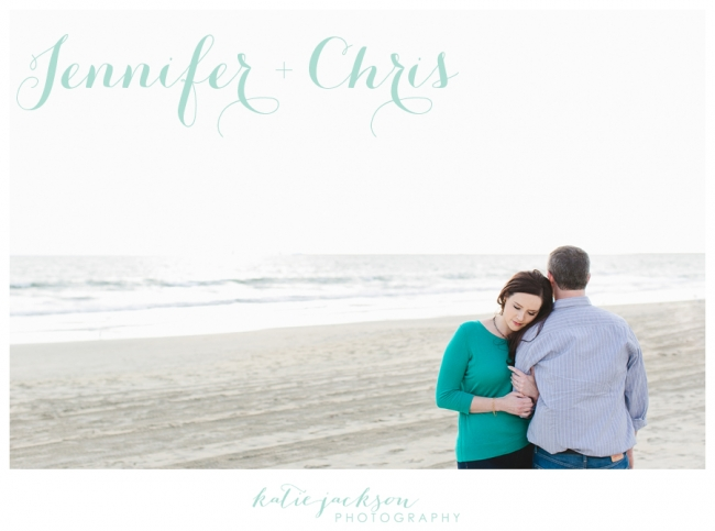 Seal Beach Pier Engagement Photo